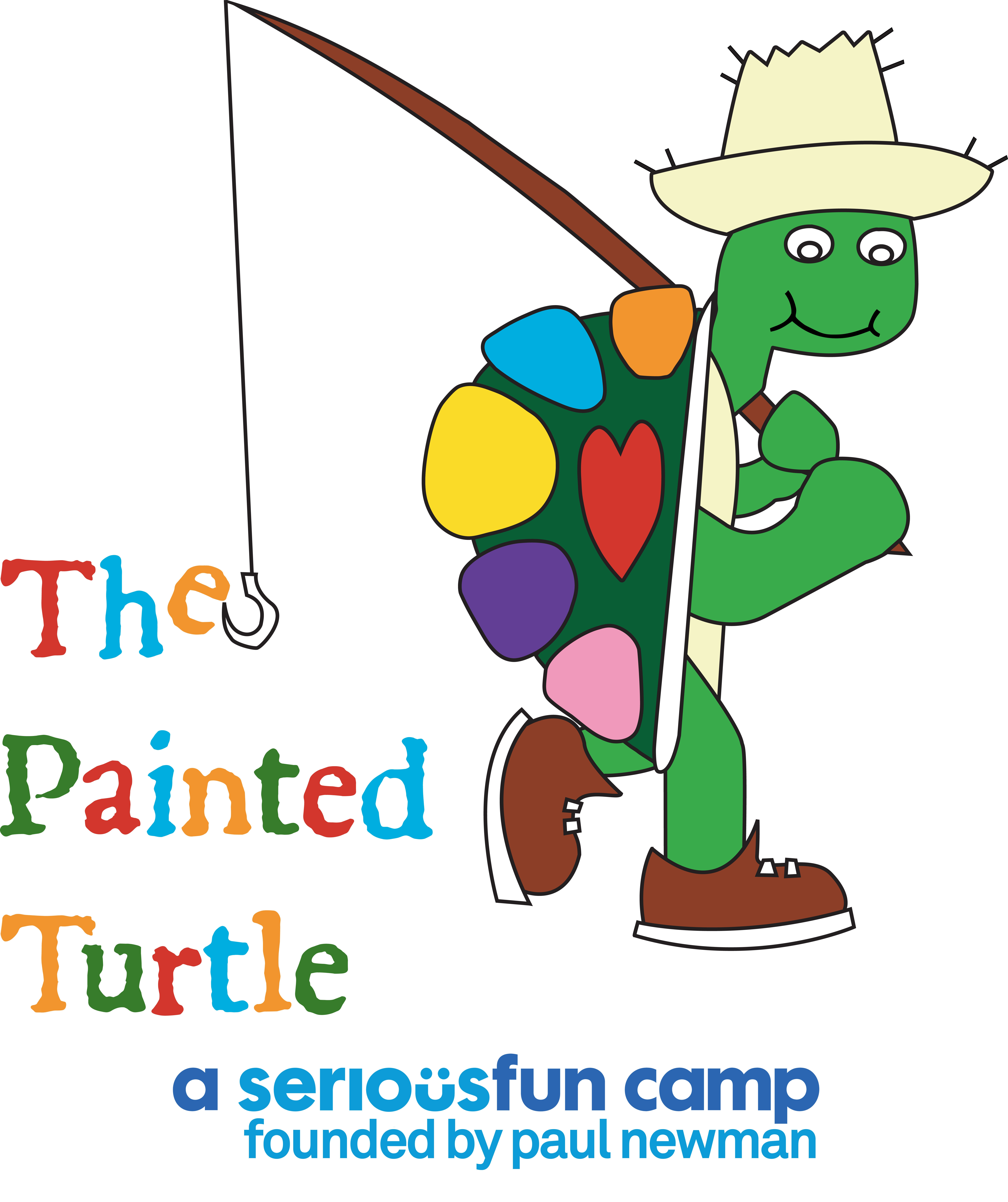 Painted Turtle Logo - SeriousFun Large