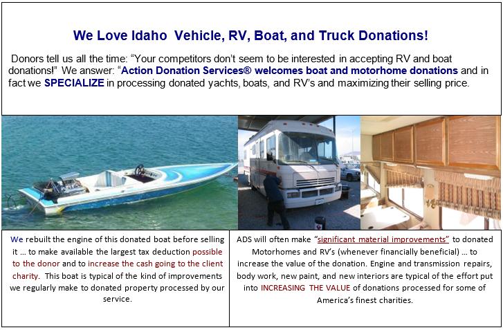 Idaho boats & cars