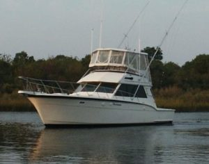 Donated Hatteras Yacht